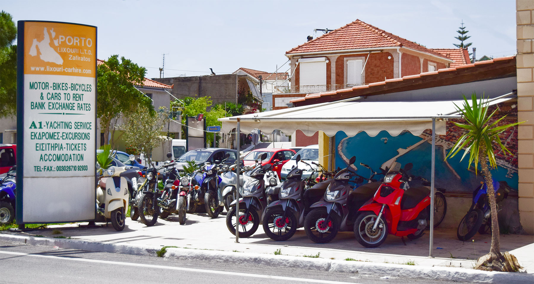 Motorcycle and Scooter Rentals Kefalonia